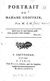 Portrait de Madame Geoffrin