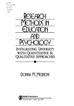 Research Methods in Education and Psychology PDF