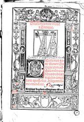 Decisiones rote Nove et Antique. Decisiones rote Nove et Antique [ed. G. Horboch] cum additionibus casibus dubiis et regulis cancellarie apostolice. diligentissime emendate