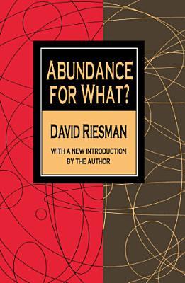 Abundance for What