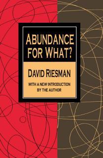 Abundance for What  Book