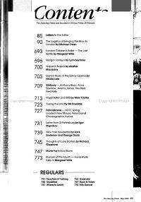 Dancing Times PDF