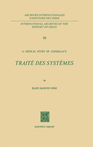 A Critical Study of Condillac's