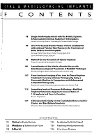 The International Journal of Oral   Maxillofacial Implants PDF