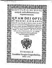 Disputatio de differentiis et causis affectuum jecinoris praeter naturam quam ... Casparus Mayerus ... defendere conabitur