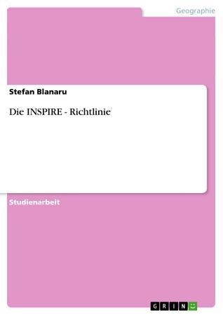 Die INSPIRE   Richtlinie PDF