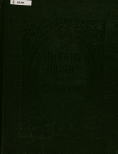 Modern music and musicians: Compositions for the piano
