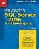 Murach's SQL Server 2016 for Developers