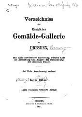 Verzeichniss Der Königlichen Gemälde-gallerie Zu Dresden