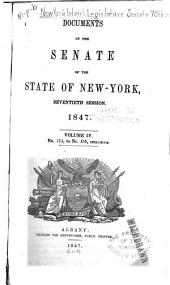 Documents of the Senate of the State of New York: Volume 4