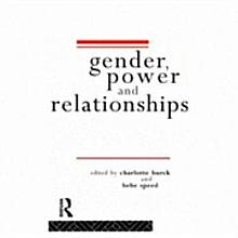 Gender  Power and Relationships PDF