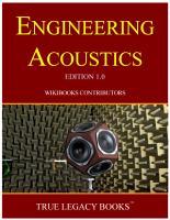 Engineering Acoustics PDF