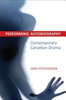 Performing Autobiography PDF