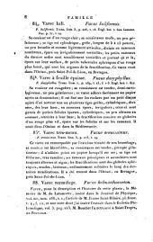 Flore française: ou, Descriptions succinctes de toutes les plantes qui croissent naturellement en France, disposées selon une novelle méthode d'analyse, et précédées par un exposé des principes élémentaires de la botanique, Volume6