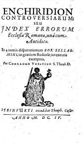 Enchiridion controversiarum inter evangelicos et pontificos