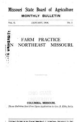 Farm Practice in Northeast Missouri: Volume 6