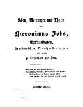 Die Jobsiade: Ein grotesk-komisches Heldengedicht in drei Theilen von Carl Arnold Kortum, Band 3