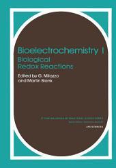 Bioelectrochemistry I: Biological Redox Reactions