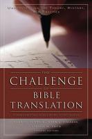 The Challenge of Bible Translation PDF