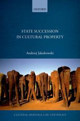 State Succession In Cultural Property Book PDF