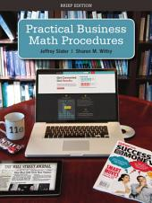 Practical Business Math Procedures Brief with Handbook and DVD: 11th Edition