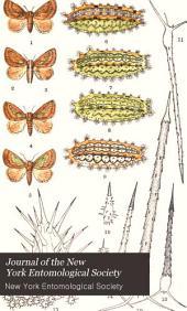 Journal of the New York Entomological Society: Volume 5