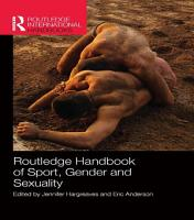 Routledge Handbook of Sport  Gender and Sexuality PDF