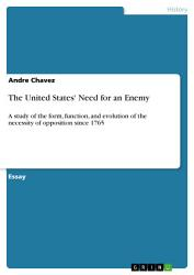 The United States Need For An Enemy Book PDF