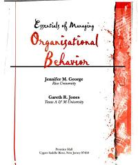 Essentials of Managing Organizational Behavior PDF