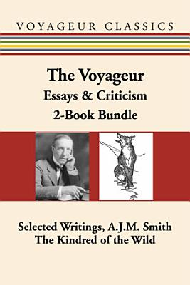 The Voyageur Canadian Essays   Criticism 2 Book Bundle