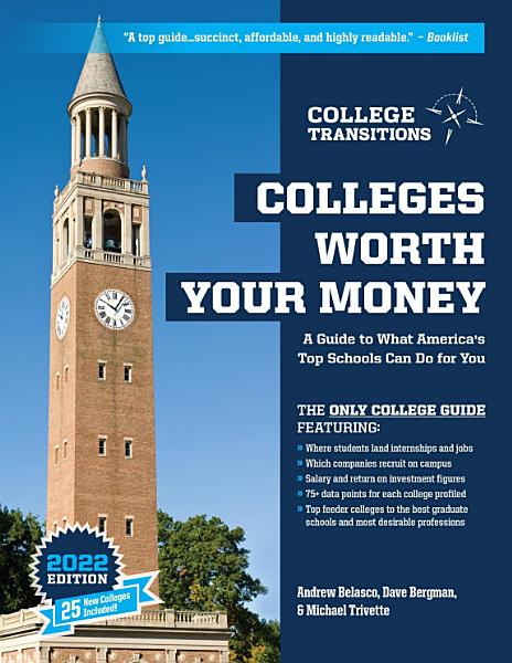 Download Colleges Worth Your Money Book