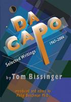 Da Capo Selected Writings 1967 2004 PDF