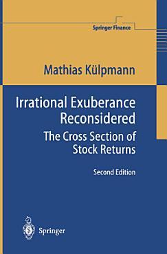 Irrational Exuberance Reconsidered PDF