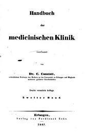 Die specielle Pathologie und Therapie: vom klinischen Standpunkte aus bearbeitet, Band 5