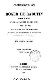 Correspondance, 1666-1693