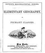 Elementary Geography for Primary Classes
