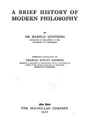 A Brief History Of Modern Philosophy Book PDF