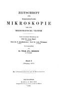 Zeitschrift f  r wissenschaftliche Mikroskopie und mikroskopische Technik PDF