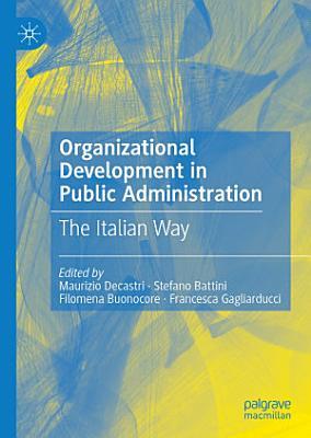 Organizational Development in Public Administration
