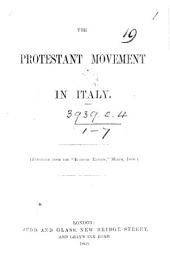 The Protestant Movement in Italy