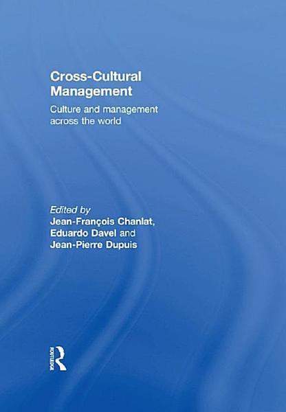 Cross Cultural Management PDF