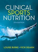 Clinical Sports Nutrition  Fifth Edition PDF