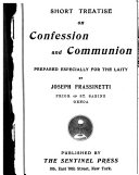Short Treatise on Confession and Communion