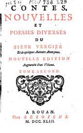 Contes, nouvelles et poësies du Sieur Vergier et de quelques auteurs anonymes: Volume3