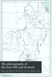 The physiography of the river Nile and its basin