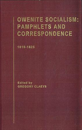 Owenite Socialism  1819 1825 PDF