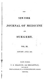 New York Journal of Medicine and Surgery: Volumes 3-4