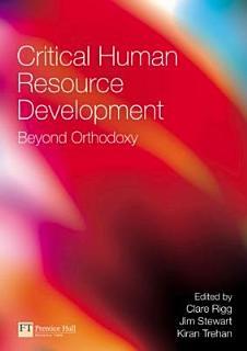 Critical Human Resource Development Book