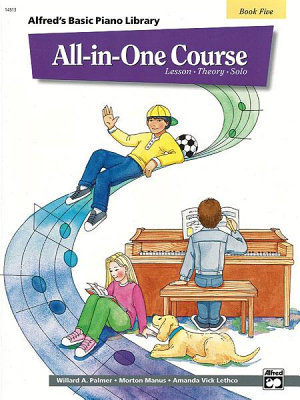Alfred s Basic All in One Course  Book 5 for Piano