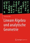 Lineare Algebra und analytische Geometrie PDF